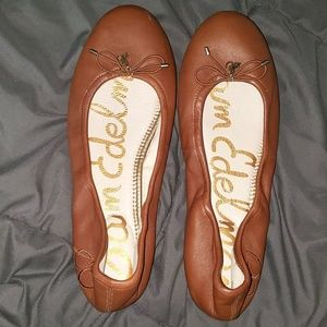 Sam Edelman Felicia ballet flats saddle leather